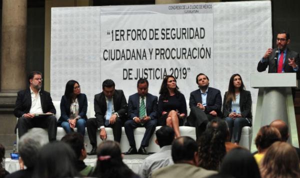 Jesús Orta, destacó la estrategia por cuadrantes. FOTO: ESPECIAL