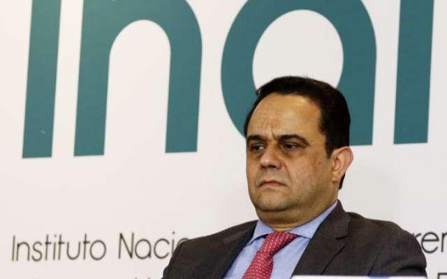El comisionado presidente del Inai, Francisco Javier Acuña Llamas, dijo que en el instituto no han sido pasivos ante este tema. Foto: Notimex