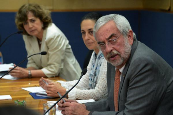 El rector Enrique Graue y la jefa de Gobierno Claudia Sheinbaum, acordaron unir fuerzas para fortalecer la seguridad de los universitarios y mejorar la calidad educativa de la CdMx