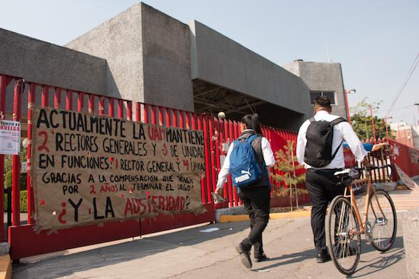 5 UNIDADES PROFESIONALES DE LA UAM HAY EN LA CDMX. Foto: Cuartoscuro.