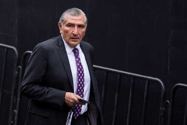 El gobernador electo de Tabasco,  Adán Augusto López Hernández. Foto: Cuartoscuro.