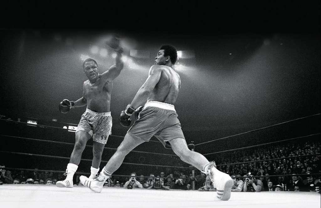 PELEA: Joe Frazier quita invicto a Muhammad Alí (8 de marzo de 1971 en NY).  Foto: Especial
