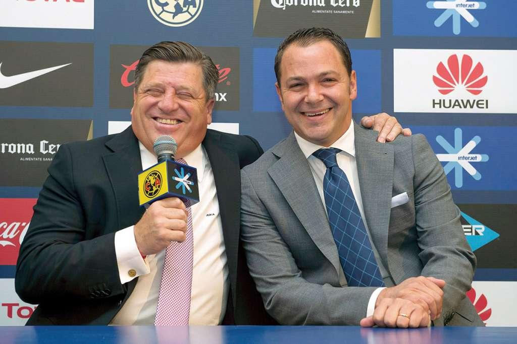 Los dos se conocieron en el Atlante; Baños era jugador y Herrera se estrenó como director técnico profesional. Foto: MEXSPORT