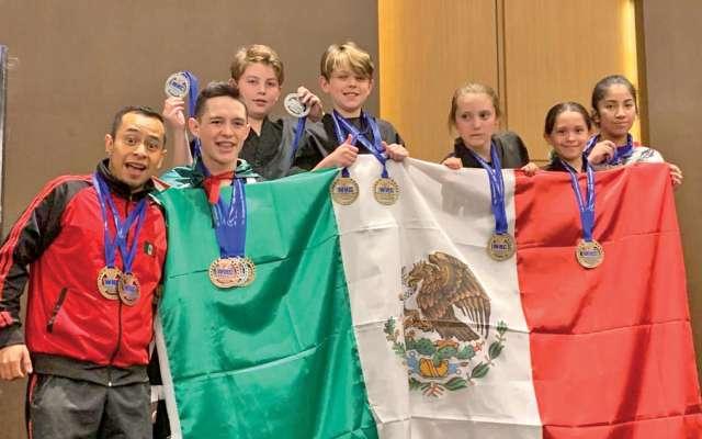TRIUNFADORES. Los atletas de nuestro país brillaron en el evento en Guatemala. Foto: Especial