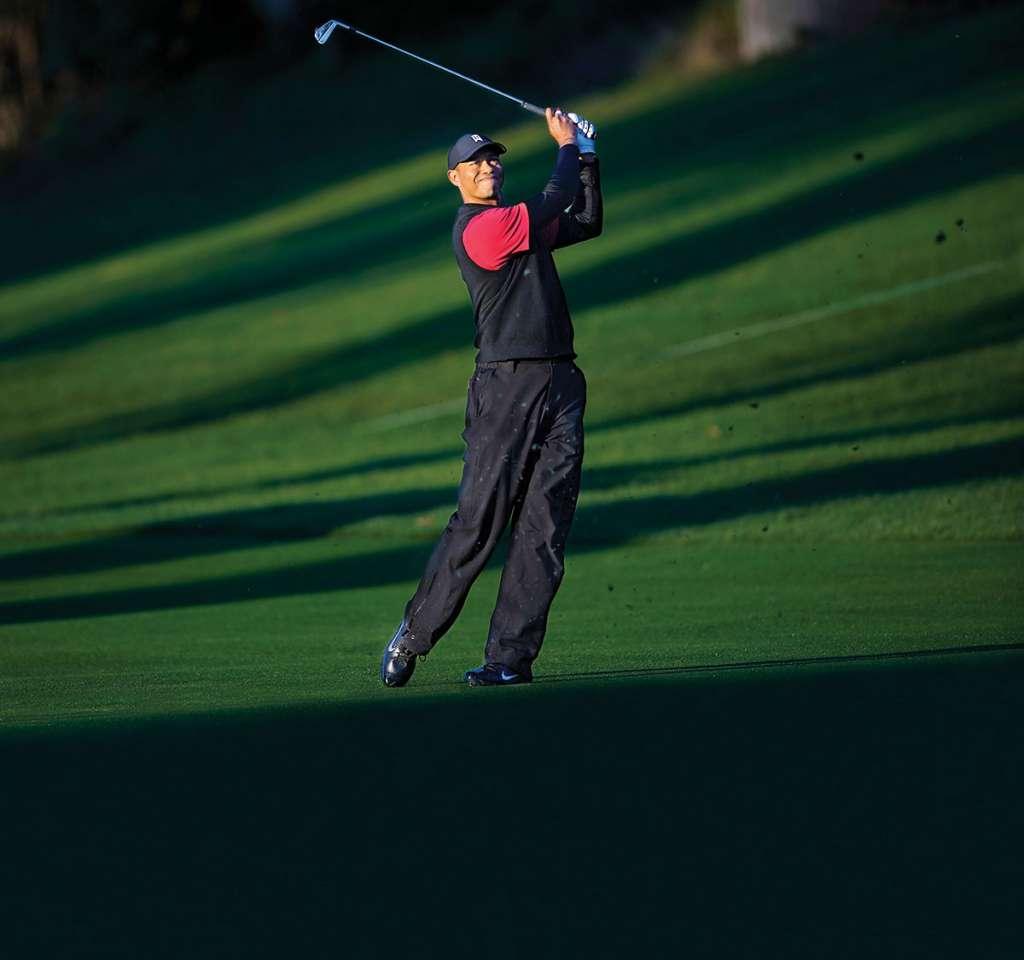 Tiger Woods jugará en nuestro país por primera ocasión en su carreraFoto: AP