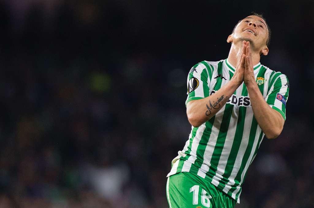 Andrés Guardado cedió su lugar a su compatriota Diego Lainez. Foto: AFP