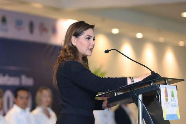 Mara Lezama, presidenta municipal de Benito Juárez, Quintana Roo. Foto: @MaraLezama