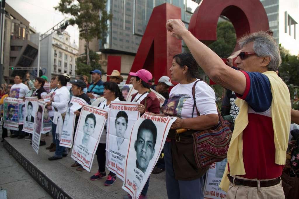 Movilizaciones por los 43 normalistas desparecidos