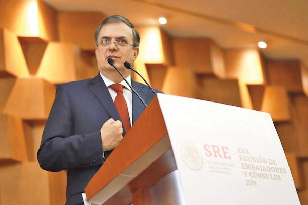 POSTURA. Marcelo Ebrard dijo que México sigue apostando por el diálogo en Venezuela. Foto: Especial.