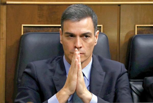 El presidente del gobierno español, Pedro Sánchez, baraja llamar a elecciones anticipadas. Foto: REUTERS/Sergio Perez