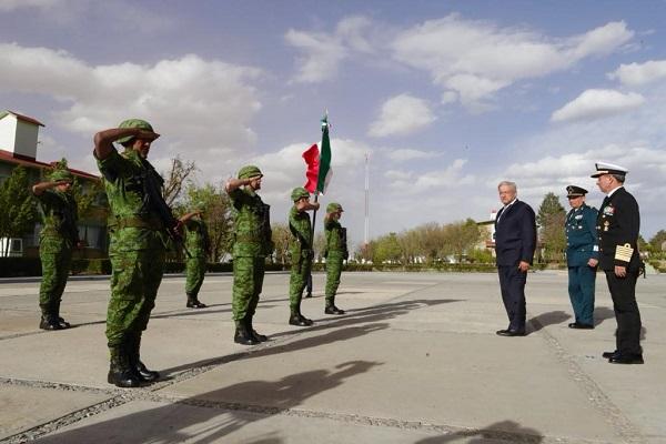 El Presidente la importancia de aprovechar la experiencia que tienen las instituciones castrenses para formar a los futuros integrantes de la Guardia Nacional. Foto: Cuartoscuro