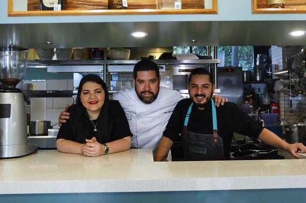 Margaret Chic Kitchen ofrece cocina franco-americana de la mano de la sommelier Laura Santander y los chefs Abel Hernández y César Vázquez. Foto: NAYELI CRUZ