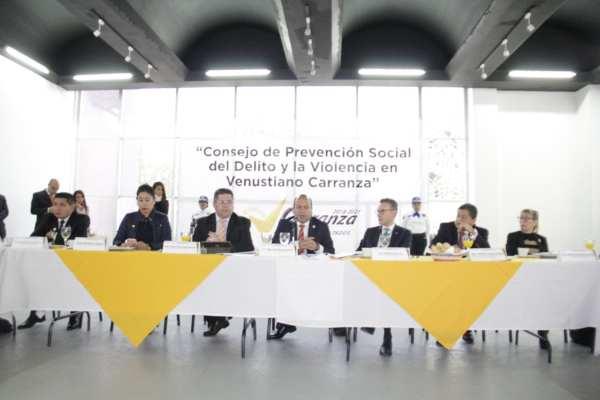 Moreno Rivera añadió que para la prevención del delito, su gobierno adquirió 88 patrullas y moto patrullas. Foto: Cortesía