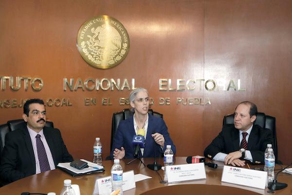 Pamela San Martín garantizó la seguridad en las votaciones del 2 de junio. Foto: Enfoque