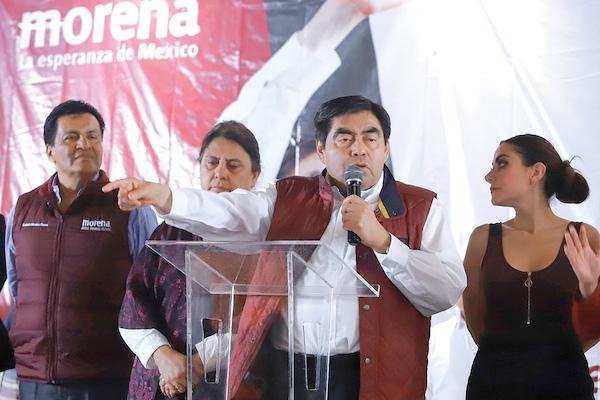 PLAN. La estrategia de Barbosa será la unidad interna y externa del partido. Foto: Enfoque