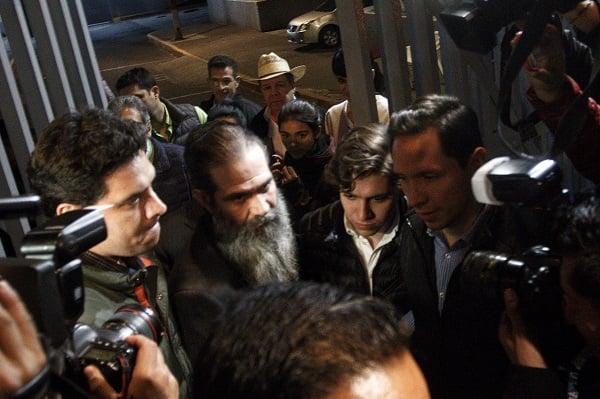 Guillermo Padrés Elías, ex gobernador de Sonora, salió bajo libertad condicional este sábado del Reclusorio Oriente, luego de que permaneció recluido desde noviembre de 2016. Foto: Cuartoscuro