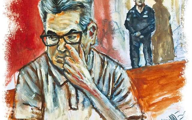 El ex gobernador interino de Coahuila, Jorge Juan Torres López, compareció ante un juez federal y quedó sujeto a proceso de extradición por los delitos lavado de dinero y fraude bancario, por los que es requerido en Estados Unidos. Ilustración: Manjarrez
