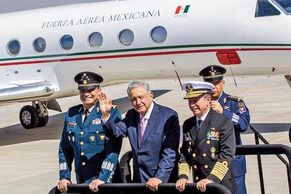 900 Hectáreas se destinarán para el nuevo aeropuerto que se construirá en Hidalgo, dijo el Presidente. Foto: Notimex