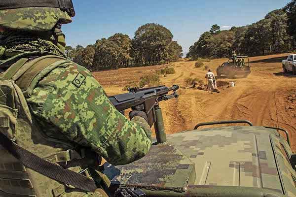 En el sitio fueron aseguradas armas de fuego y cartuchos. FOTO: ARCHIVO/ CUARTOSCURO