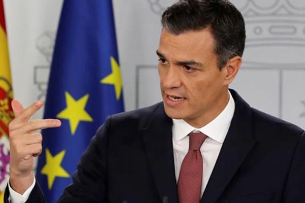 """""""España necesita avanzar y no dar pasos atrás"""", afirmó el presidente español. FOTO: REUTERS"""