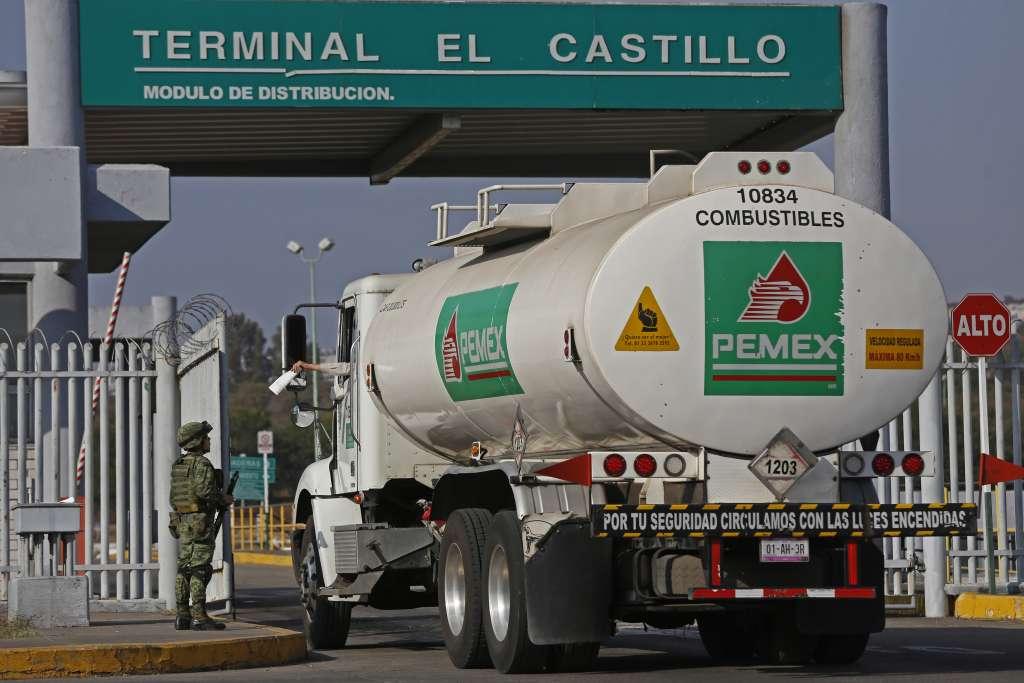 Planta de Almacenamiento de Pemex