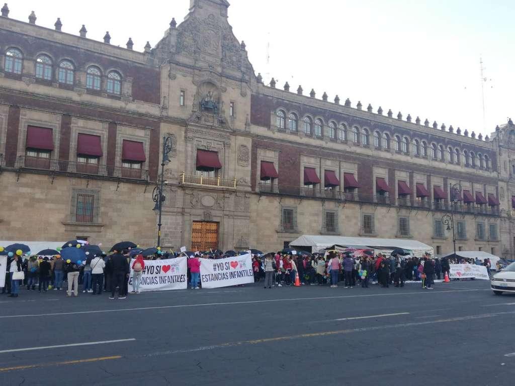 Movilizaciones en Plaza de la Constitución