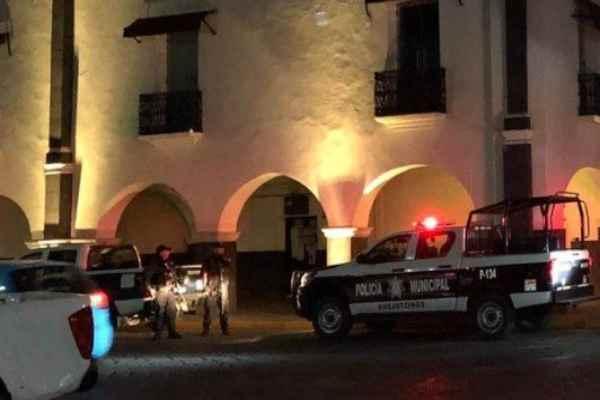 El ataque ocurrió este lunes, cerca de las22:37 horas. Foto: Especial