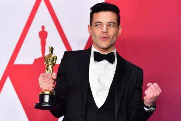 "Malek le dio vida a Freddie Mercury en la película""Bohemian Rhapsody"". Foto: AFP"