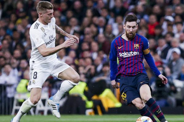 El Real Madrid perdonó al Barcelona en la primera parte de la vuelta de semifinales de la Copa del Rey