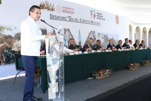 El perredista señaló que Michoacán es claro ejemplo del resultado de una coordinación estrecha en el combate a la delincuencia