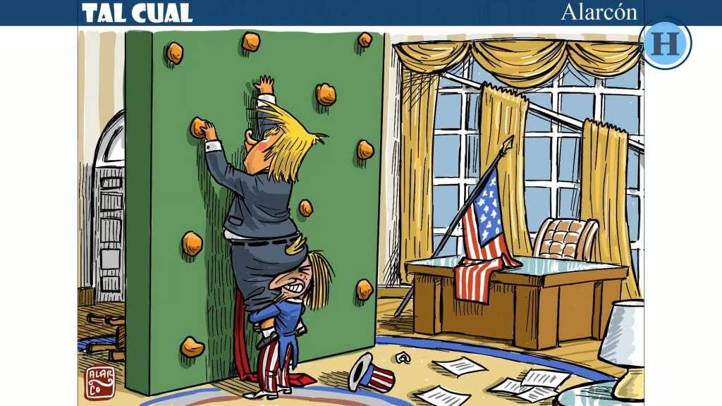 Tal Cual: El entrenamiento de Trump en el muro