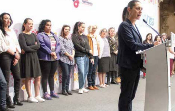 El festival lo hace un consejo curatorial de expertas en este caso, de distintas disciplinas, actrices, feministas, deportistas, académicas. FOTO: CUARTOSCURO