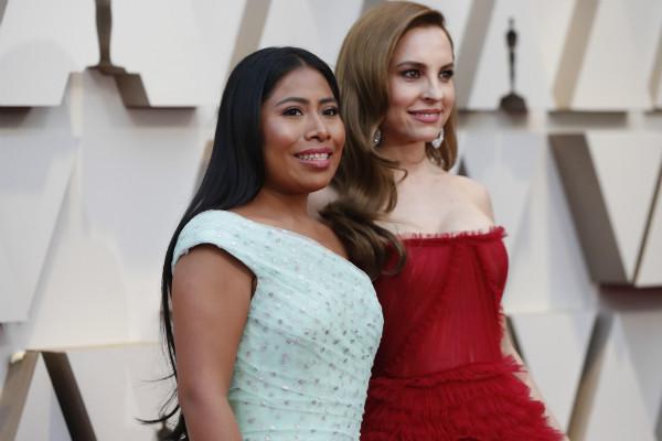 YalitzaAparicio, nominada en la categoría de Mejor Actriz en los Premios de la Academia del domingo, ha aparecido en la portada de
