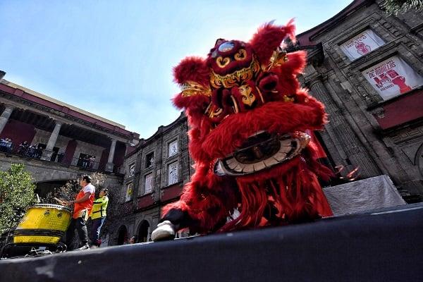 De acuerdo con la cultura china, este animal representa el término de un ciclo de 12 años y se le asocia con la riqueza, fortuna, fertilidad y virilidad. Foto: Edgar López