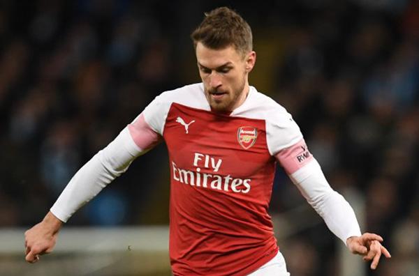 Formado en el Cardiff City, Ramsey debutó con el primer equipo galés en 2007 y en julio de 2008 firmó por el Arsenal.  FOTO: AFP