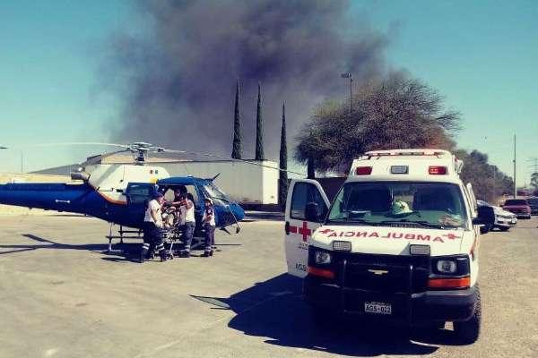 Elementos de Protección Civil de Aguascalientes atendieron el siniestro.