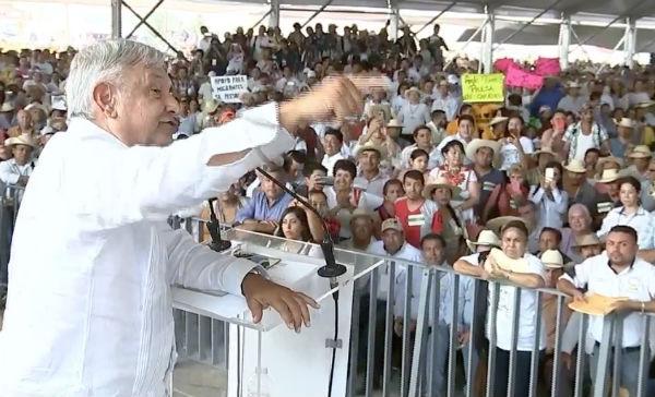 Sí sabía que estaban caldeados los ánimos en Michoacán, dice el presidente Andrés Manuel López Obrador Foto: Captura de video