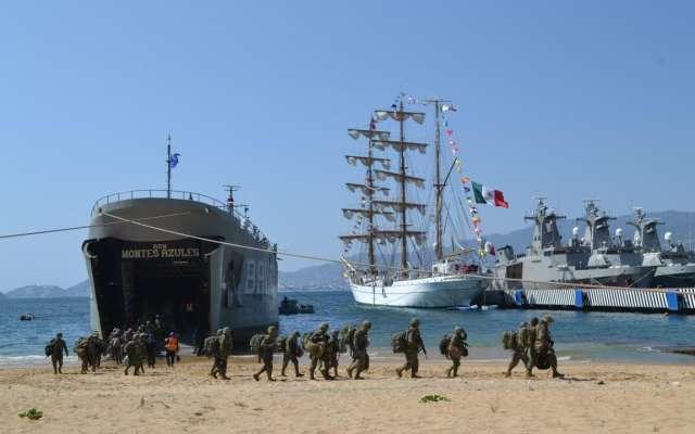 El objetivo es asegurar la tranquilidad de la ciudadanía en el puerto de Acapulco. FOTO: ESPECIAL