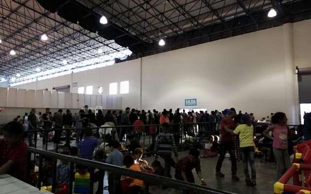 Alrededor de 400 migrantes presentan cuadros gripales. FOTO: ESPECIAL