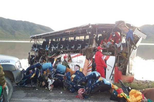 El presidente de Bolivia, Evo Morales, envió condolencias a las familias de las víctimas. Foto:@Canal_BoliviaTV