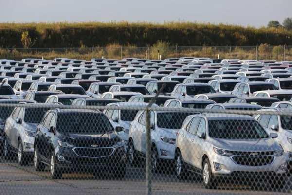 GM que vendió menos vehículos en China en el cuarto trimestre. Foto: Reuters