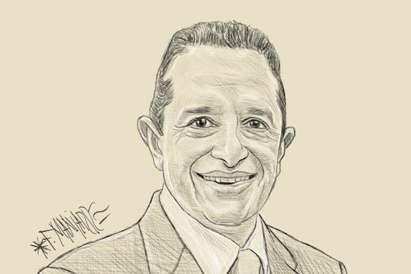 Carlos Joaquín González, ilustración Manjarrez