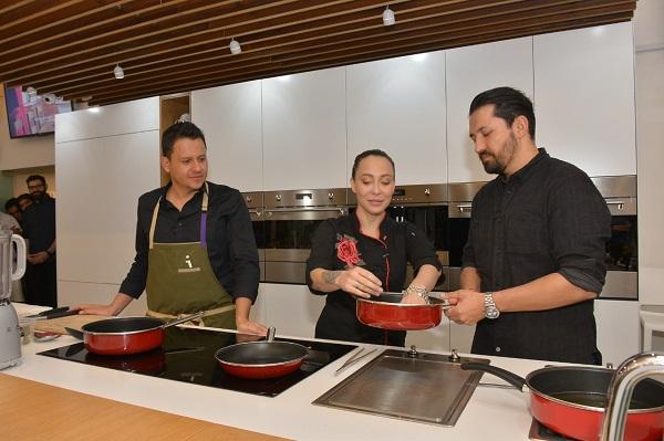 Los chefs compartieron sus técnicas culinarias y la comida que se hace en México. Foto: Especial
