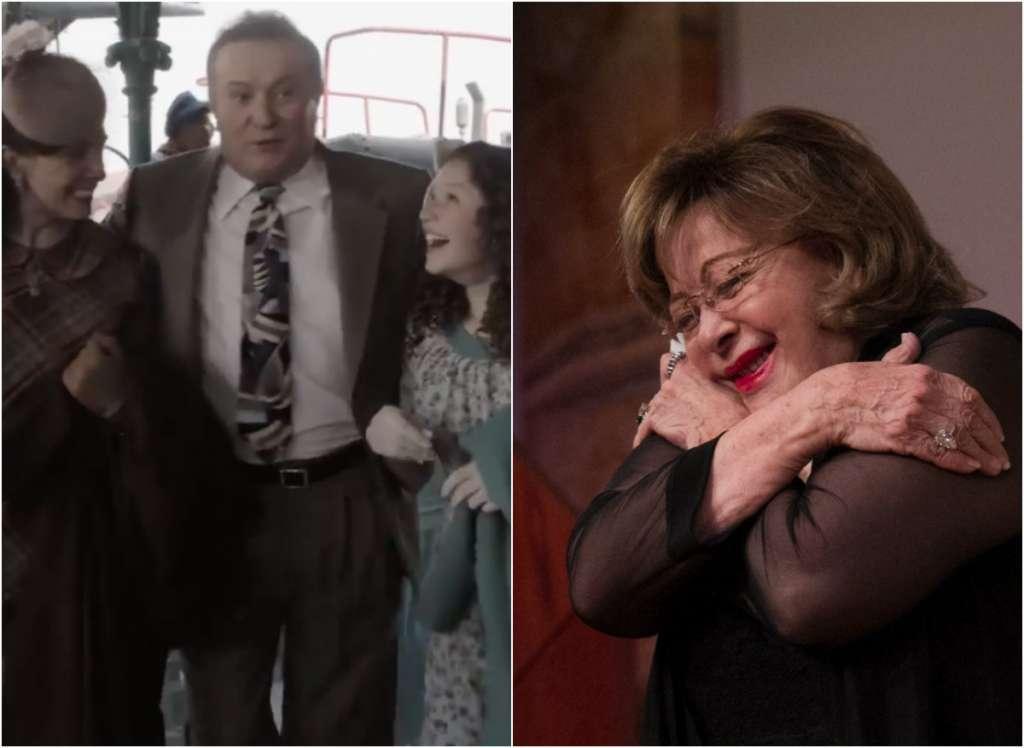 """En 1942 Silvia, interpretada por Mía Rubín Legarreta, acompaña a su madre a la capital mexicana, y ahí su tía """"Concha"""""""