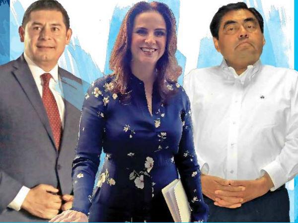 TERNA. La Comisión Nacional de Elecciones de Morena reconoció la trayectoria política de los precandidatos. Foto: Enfoque