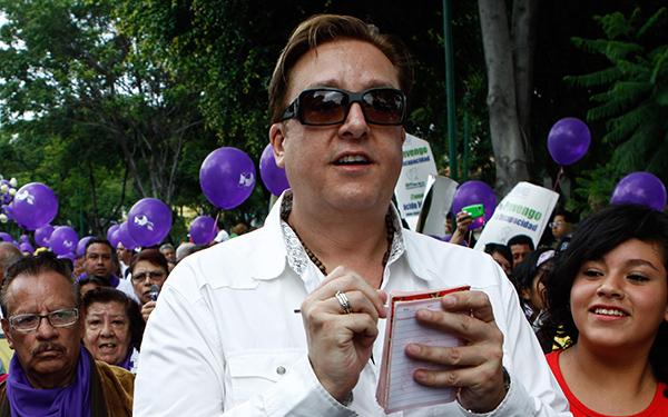 Daniel Bisogno, conductor del programa de espectáculos Ventaneando. FOT