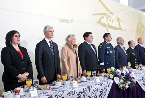 El 10 de febrero se conmemora el aniversario de la Creación de la Fuerza Aérea Mexicana. FOTO: ESPECIAL