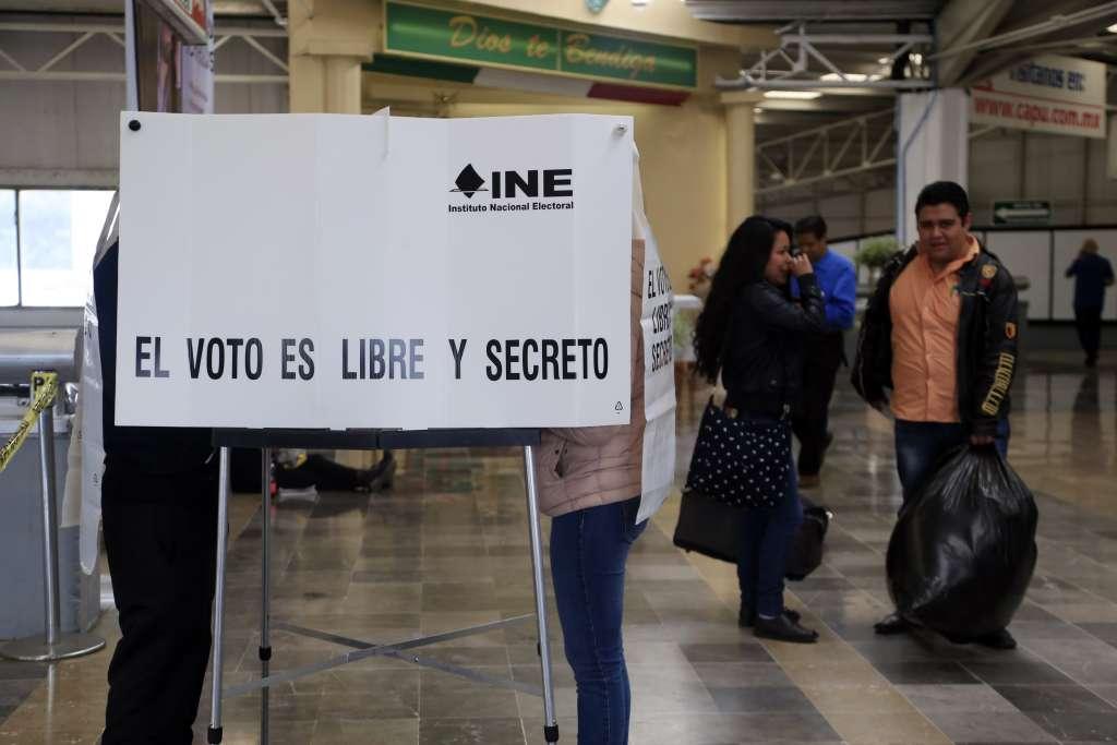Casilla en la Terminal de Autobuses de Puebla