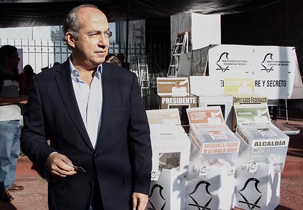 El expresidente Felipe Calderón agregó que en todo el mundo los consejeros independientes son valorados por su experiencia, incluyendo la que tuvieron en el gobierno.FOTO: CUARTOSCURO