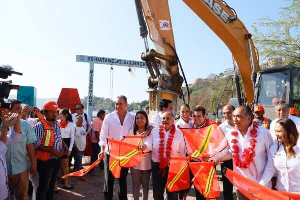 Astudillo dijo que el proyecto será de gran ayuda para darle mayor calidad y atractivo al destino. Foto: Especial